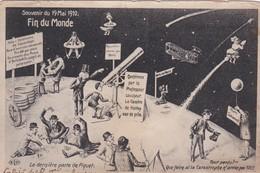 SOUVENIR DU 19 MAI 1910 FIN DU MONDE COMETE DE HALLEY   ACHAT IMMEDIAT - Astronomie