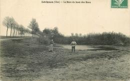 CP LEVIGNEN MARE DU BOUT DES RUES - France