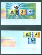 AUSTRALIA  - FDC - 1.3.2006 - XVIII COMMONWEALTH GAMES - Yv 2414-2416 BLOC 88 - Lot 18584 - Premiers Jours (FDC)