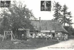 CPA N°24450 - LE TILLEUL-OTHON - LA FORGE - REPRODUCTION - France