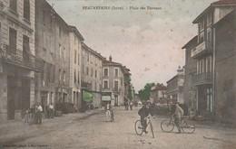 Isère : BEAUREPAIRE : Place Des Terreaux ( Colorisée ) - Beaurepaire