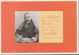 18/12/ 190. -   STEPHANE  MALLARMÉ. -  MAXIME. -  C. P. M. - Ecrivains