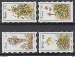 D90819 Transkei South Africa 1986 CACTII ALOES PLANTS MNH Set - Afrique Du Sud Afrika RSA Sudafrika - Transkei