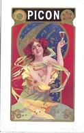 Pub PICON - Art Nouveau - Imprimerie Cremnitz - Années 1900 - - Autres Collections