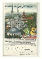 AK Sarajevo - Litho - 1899 - Bosnie-Herzegovine