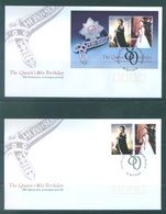 AUSTRALIA  - FDC - 19.4.2006 - QUEEN'S 80th BIRTHDAY - Yv 2424-2425 BLOC 89 - Lot 18586 - Premiers Jours (FDC)