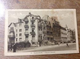 Oostduinkerke Avenue Léopold - Cartes Postales