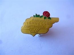 PINS USA TENNESSEE NASHVILLE CHATTAGOGA / 33NAT - Città