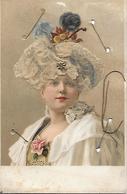 Carte Postale - Femme Et Cheveux Naturels - Années 1900 - Edition Brefkort - - Autres