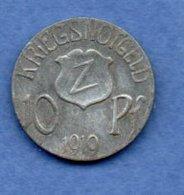 Wolfach  -  10 Pfennig - Kriegsnotgeld 1919  - état  TTB - Monétaires/De Nécessité