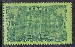GUYANE N°107 N* - Guyane Française (1886-1949)
