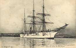 """Le """" Vaucluse"""" Envoyé En Mission Hydrographique Sur Les Mers Du Pacifique RV - Segelboote"""