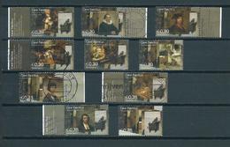 2004 Netherlands Complete Set Carel Fabritius Used/gebruikt/oblitere - Periode 1980-... (Beatrix)