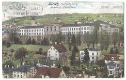 Zürich, Eidg. Technische Hochschule, ETH, Polytechnikum Jakobsburg Freudenberg 15.07.1906 - ZH Zurich