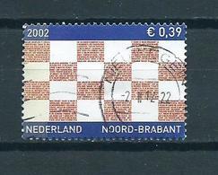 2002 Netherlands Noord-Brabant Used/gebruikt/oblitere - Periode 1980-... (Beatrix)