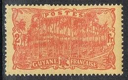 GUYANE N°88 N* - Guyane Française (1886-1949)