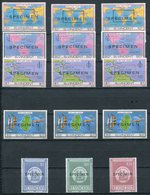1980-ST.VINCENT- LOT SPECIMEN'S-M.N.H.-LUXE ! - St.Vincent (1979-...)