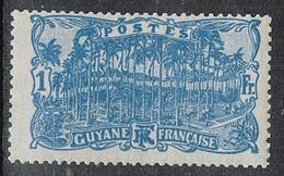 GUYANE N°87 N* - Guyane Française (1886-1949)