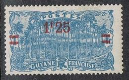 GUYANE N°103 N* - Guyane Française (1886-1949)