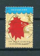 2011 Netherlands 100 Jaar Circus Renz Used/gebruikt/oblitere - Period 1980-... (Beatrix)