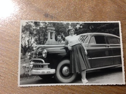 Photo Carte Ancienne Voiture - Cartes Postales