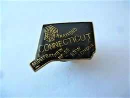 PINS USA CONNECTICUT BRIDGEPORT  NEW LONDON / 33NAT - Città