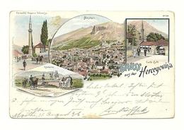 AK Herzegowina - Litho - 1896 - Beschädigt! - Bosnie-Herzegovine
