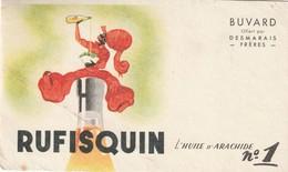 Rare Buvard Rufisquin L'huile D'arachide N°1 - Alimentare
