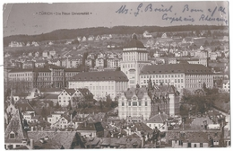 Zürich, Die Neue Universität 20.03.1915 - ZH Zurich