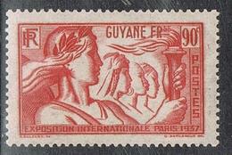 GUYANE N°147 N* - Guyane Française (1886-1949)