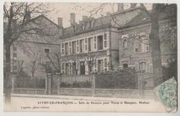 CPA 51 VITRY LE FRANCOIS Salle De Réunion Pour Noces Et Banquets , Malinet - Vitry-le-François