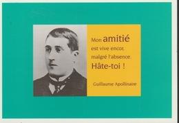 18/12/ 192  -  Guillaume  APOLLINAIRE   -  MAXIME. -  C. P. M. - Schrijvers