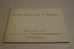 Ancien Catalogue,socièté Commerciale De Belgique,Ougrée - Marihaye,Mai 1930,dimensions ; 18 Cm./13 Cm.47 Pages - Vieux Papiers