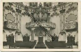Ettal - Kloster - Orgel - Foto-AK - Verlag Martin Herpich München - Kirchen U. Kathedralen