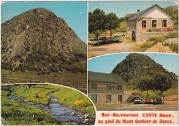 Saint-Martial: RENAULT 12 & BREAK, CITROËN 2CV, PEUGEOT 404 - Bar-Restaurant CEYTE René, Gerbier De Joncs - (Ardèche) - Toerisme