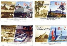 Mauritius / Bicentenary Of Mahebourg / Regata, Regats, Boats - Mauricio (1968-...)