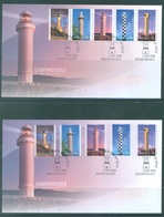 AUSTRALIA  - FDC - 2.5.2006 - LIGHTHOUSES - Yv 2535-2544 - Lot 18588 - Premiers Jours (FDC)