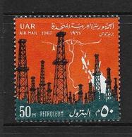 EGYPTE 1967 REVOLUTION  YVERT N°A107 NEUF MNH** - Luchtpost