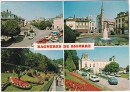Bagneres De Bigorre: ALFA ROMEO GTV, OPEL MANTA-B, RENAULT 5,6,4, CITROËN DS, GS, CX, AMI 6, PEUGEOT 104, 504 - Toerisme