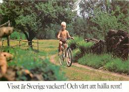 D1457 Sweden Bike - Suède
