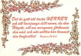 D1457 Sweden Psaltaren 92:2.3 - Suède
