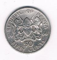 50 CENTS  1966 KENIA / 8573// - Kenya
