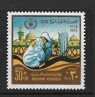 EGYPTE 1969 AIDES AUX REFUGIES PALESTINIENS  YVERT N°797 NEUF MNH** - Égypte