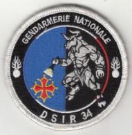 Insigne Gendarmerie Nationale Détachement De Sécurité Et D'Intervention Routière 34 - Tissus - Police & Gendarmerie