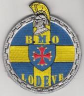 Insigne Gendarmerie Nationale De La Brigade Motorisée De Lodève - Tissus - Police & Gendarmerie