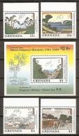 PINTURA - GRENADA 1989 - Yvert #1779/82+H212 - MNH ** - Arte