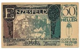 1920 - Austria - Enzesfeld Notgeld N76 - Autriche