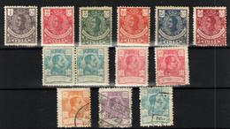Guinea Española Nº 98/101,104,107,162/63,158/59,162. Años 1914-1922 - Guinée Espagnole