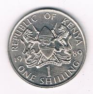 1 SHILLING   1989 KENIA / 8577// - Kenya