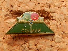 Pin's -  TENNIS DE TABLE - CC COLMAR - HAUT RHIN 68 - Table Tennis